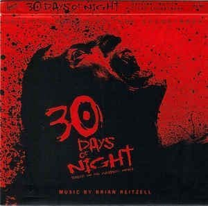 Brian Reitzell<br>30 Days Of Night  (Original Motion Picture Soundtrack)<br>CD